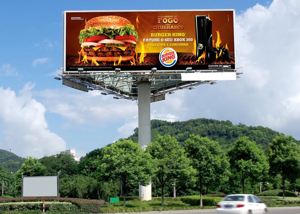 Campanha Promocional Burger-King-XBox